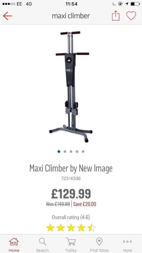 Maxi climber... almost new