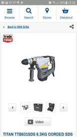Titan hammer drill and accesories