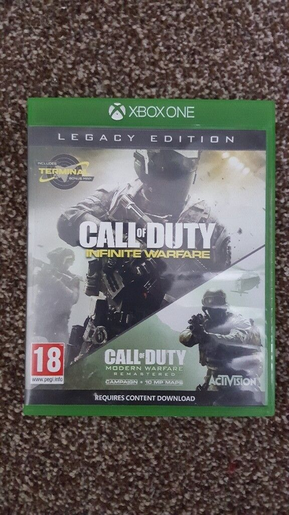 Call of duty IW/MW legacy edition