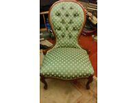 Early 20th Century Nursing Chair