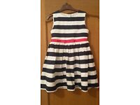 girls mothercare dress age 6-7 perfect con