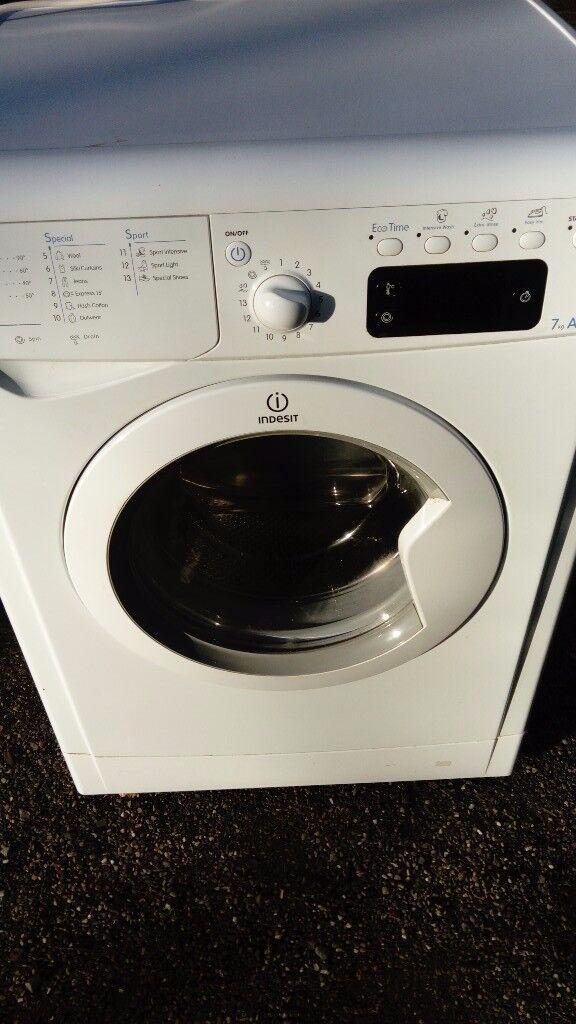 Washing machine Indesit 7kg, 1400 rpm