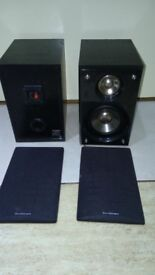 Sandstrem speakers 50w 4omh with nets good condition Can deliver or post!