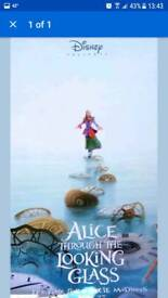 Alice Through The Looking Glass Cinema Banner
