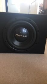 12 Inch Pinoneer tsw305c- Boxed with a port(Mint)