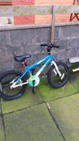 """Boy""""s bicycle needs the chain sorting new tyres good condition"""