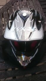 Viper RS-X 8 moto-cross helmet & oakley goggles