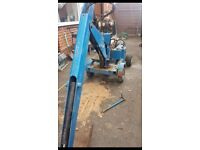 Mini digger 2 buckets towable ideal self build excellent working order