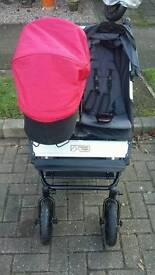 Mountain Buggy Duet New Condition with All Accessories