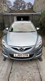 MAZDA 6 2.2 DIESEL SPORT ESTATE Light Blue 180BHP 2010 102000miles
