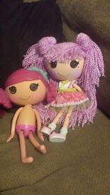 Lalaloopsy doll plus doll that you can put in the bath