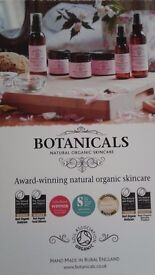 Botanicals organic skin care products available