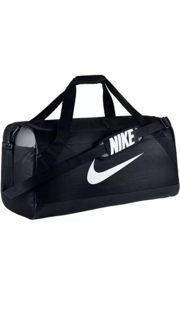 Nike Brasilia Large Holdall Black Sports Gym Travel Bag  691ffc00c15fb