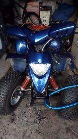 100cc 2 stroke quad