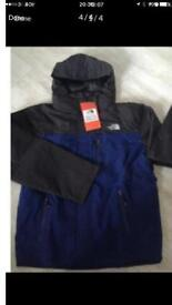 Genuine brand new with tags men's north face jacket