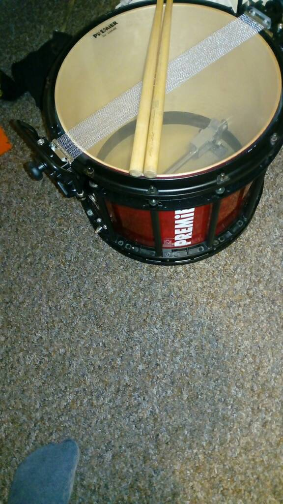 Premier Sd Snare Drum Can Be A Marching Has Case Bag