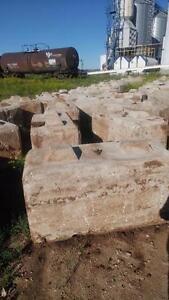 Large Concrete Stacking Blocks