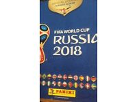 Football stickers World Cup needed