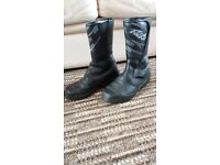 Falco Competition Motorcycle Boots Size 38