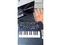 Microbrute analog synthesizer