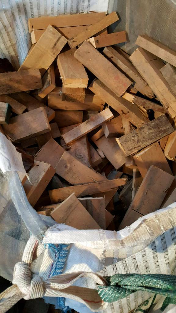 Reclaimed timber and builders offcuts