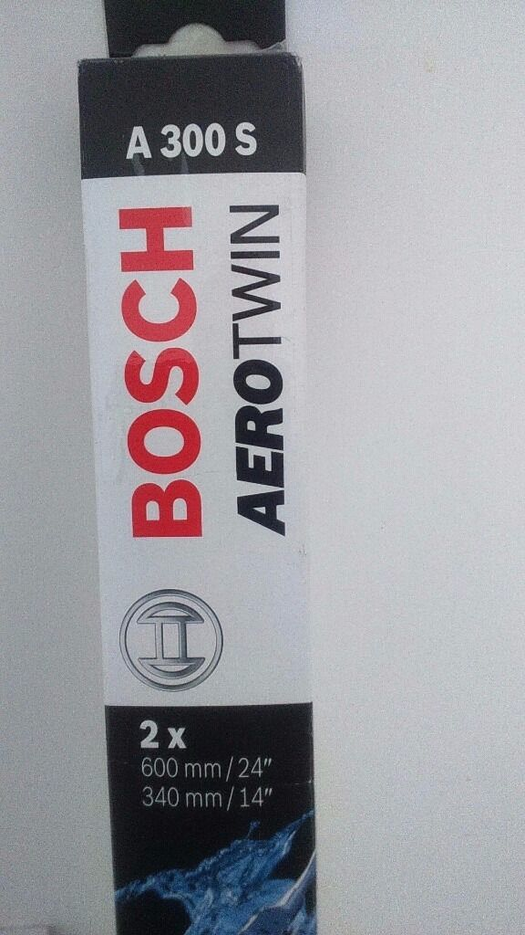 Bosch Aerotwin Wiper Blades As New For Ford Ka And Fiat