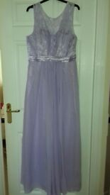 Brand new lilac dresses size 16/18 and 6/8