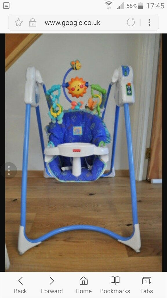 Baby indoor swing Fisher Price Excellent condition