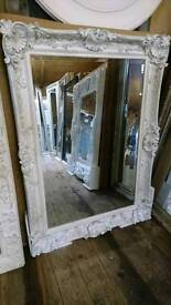 Brand new shabby chic mirror white and one black SALE