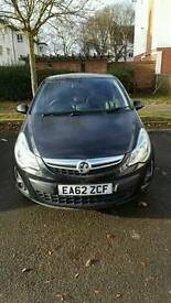 Vauxhall corsa 1.4 16v 2012 low mileage and mot and road taxed
