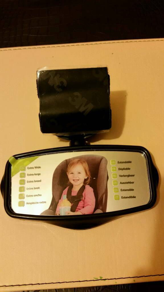 New - Lindam safe view mirror