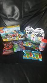 Bundle toys Lego hatchimals mashems ect