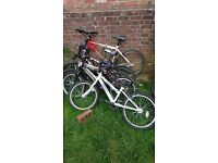Joblot of 5 bikes