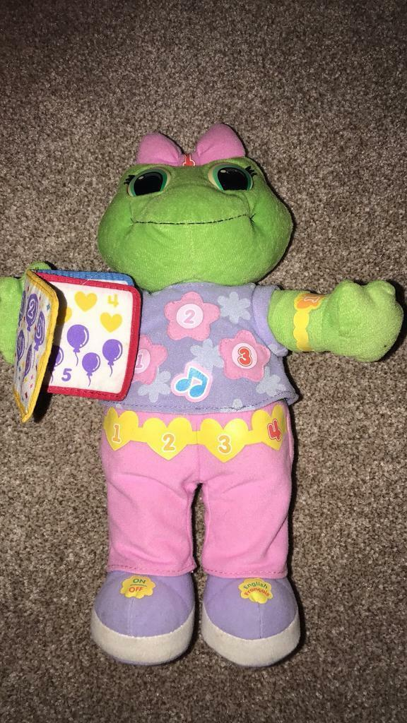 Leap Frog Lily - talks English and French in excellent condition