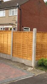 GARDEN FENCING/FENCING REPAIRS/GREEN WASTE CLEARED