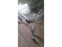 Glass coffee table only £15 ono