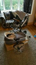 Joolz day studio in gris travel system