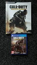 Call of Duty Advanced Warfare PS4 with guide