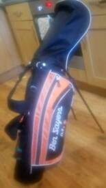 Ben sayers junior golf set with balls tees footjoy glove and other accessories