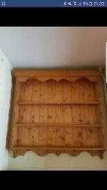 Wooden Wall Shelf/unit