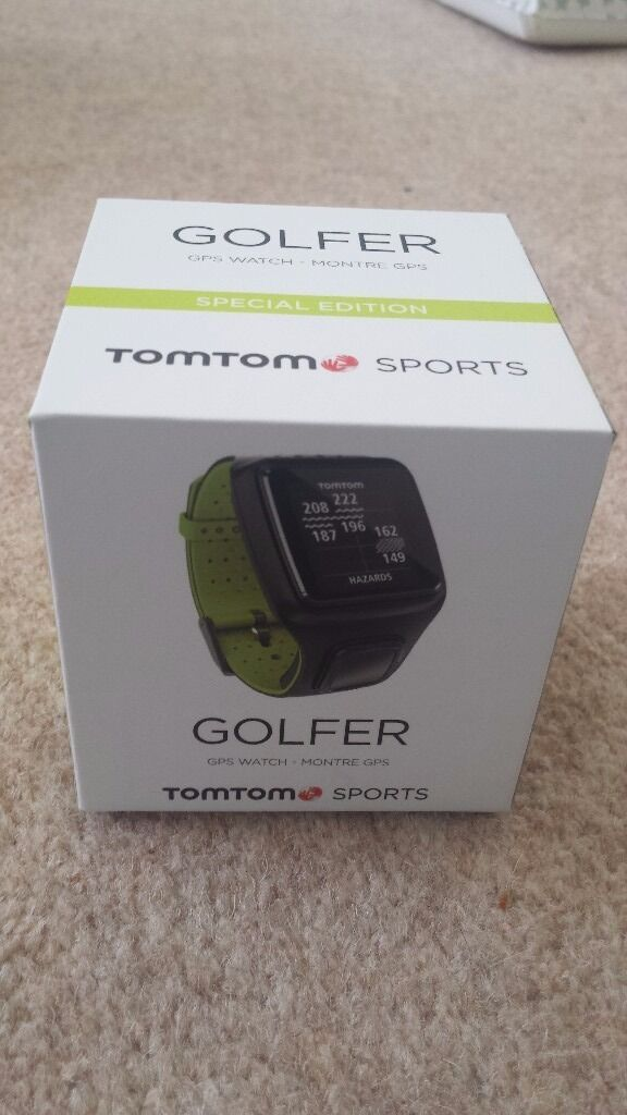 GPS tom tom Golf Watchin Kirkliston, EdinburghGumtree - Golf watch which I won last week. It is unopened and was purchased from American golf