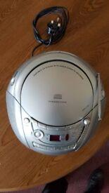 Bush Portable CD With Radio Cassette Recorder