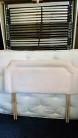 4 foot divan with mattress £45