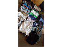 BUNDLE CLOTHES / WOMAN SIZE 8-10