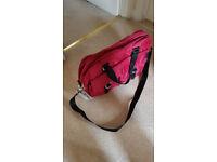 Little Lifestyles Maternity/Weekender Bag in Raspberry