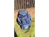 Trekking/hiking/travelling Backpack 70L, waterproof.