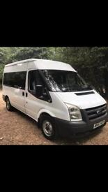IDEAL FOR EXPORT FORD TRANSIT 9 SEATER MINIBUS 2007 FULL SERVICE HISTORY