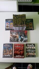 UFC/Boxing dvds for sale!!