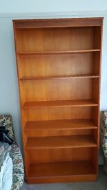 Yew Wood Bookcase