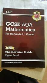 Cgp aqa GCSE revision guides for new Grading system